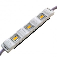 LED модуль SMD5630 1.5Вт 3000K 12В IP65 с линзой