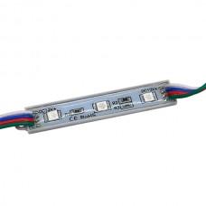 LED модуль BIOM SMD5050 0.72Вт RGB 12В IP65 без линзы