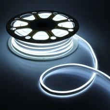 LED Neon 2835-120 220V IP68 8x16 Премиум Х-Белый