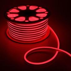 LED Neon 2835-120 220V IP68 8x16 Премиум Красный