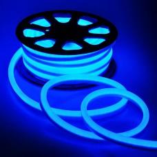 LED Neon 2835-120 220V IP68 8x16 Премиум Синий