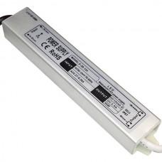 Блок питания 30Вт 12В 2.5А Алюминий IP67 Стандарт