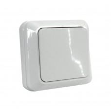 Выкл. одноклавишный наружный 220 ТМ Белый