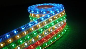 Купите светодиодную ленту и аксессуары для украшения домашнего интерьера