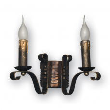 Бра настенное 2 свечи Е14 серии Lilia 120922