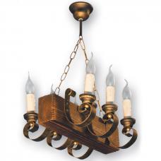 Люстра підвісна 6 свічок Е14 серії Venza 130526