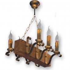 Люстра підвісна 6 свічок Е14 серії Lilia 130926