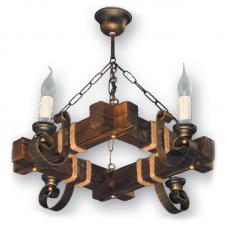 Люстра підвісна 4 свічки Е14 серії Venza 140524