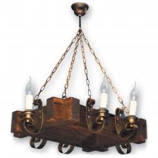 Люстра подвесная 6 свечей Е14 серии Venza 240526