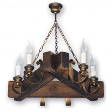 Люстра подвесная 6 свечей Е14 серии Venza 220526