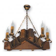 Люстра подвесная 6 свечей Е14 серии Lilia 220926