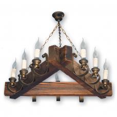 Люстра подвесная 9 свечей Е14 серии Venza 240529