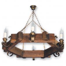 Люстра підвісна 6 свічок Е14 серії Venza 250526