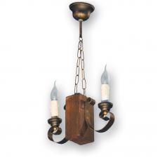 Люстра подвесная 2 свечи Е14 серии Venza 330522