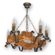 Люстра подвесная 6 свечей Е14 серии Lilia 340926
