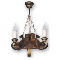 Люстра подвесная 3 свечи Е14 серии Venza 350523