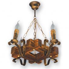 Люстра підвісна 4 свічки Е14 серії Lilia 360924