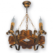 Люстра подвесная 4 свечи Е14 серии Lilia 360924