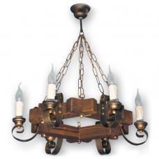 Люстра подвесная 6 свечей Е14 серии Venza 400526