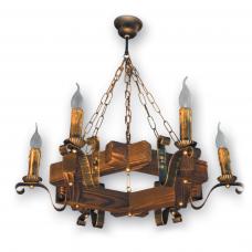 Люстра підвісна 6 свічок Е14 серії Lilia 400926