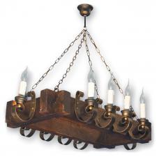 Люстра підвісна 10 свічок Е14 серії Venza 4105210