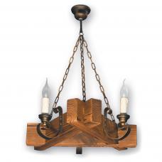 Люстра підвісна 3 свічки Е14 серії Venza 420523