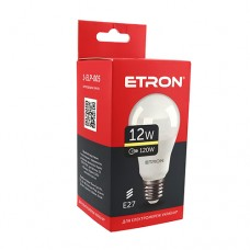 Лампа світлодіодна ETRON Light Power 1-ELP-005 A60 12W 3000K E27