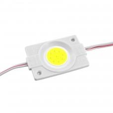 LED модуль СОВ-led 2.4Вт 6500K 12В IP65 без линзы