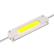 LED модуль СОВ-led 2Вт Зелений 12В, IP65 без лінзи