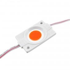 LED модуль СОВ-led 2.4Вт Красный 12В IP65 без линзы