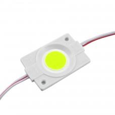 LED модуль СОВ-led 2.4Вт Зелёный 12В IP65 без линзы