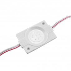 LED модуль СОВ-led 2.4 Вт Синій 12В, IP65 без лінзи