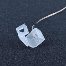 Конектор PROLUM для неону Silicone 2835\120 8x16(Провід + 1 затискач)