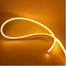 """Світлодіодний неон PROLUM Silicone 2835\120 IP68 12V 6x12 - SERIES """"SM"""" PRO Жовтий"""