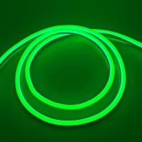 LED Neon BIOM 2835-120 12V IP68 8x16 Стандарт Зелёный