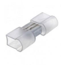 Коннектор PROlum для светодиодного неона (Пластик) - 8*16