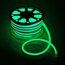 Светодиодный Neon PROLUM SMD2835-120 led 220V IP68 8x16 Премиум Зелёный