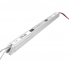 Блок питания 60Вт 12В 5А Ultra Slim Алюминий IP20 Стандарт