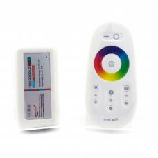 Контролер 12В RGB 18А RF сенсорний Білий