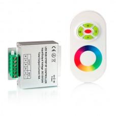 Контроллер 12В RGB 18А RF полусенсорный Белый