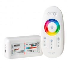 Контроллер 12В RGB+W 24А RF сенсорный Белый