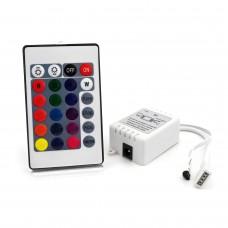 Контролер 12В RGB 6А IR кнопковий