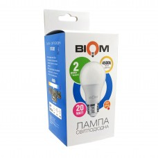 Светодиодная лампа BIOM 20W E27 4500K А80 (Груша) BT-520