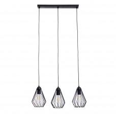Люстра підвісна Atma Light серії Capella Dribble C210-450-3 Black
