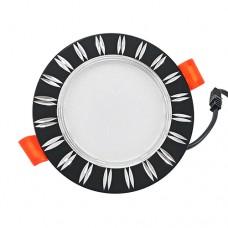 Світильник LED Biom Downlight DFR-6B 6Вт чорний круглий 5000К