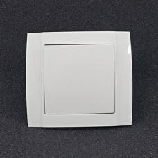 Вимикач одинарний внутрішній Yaweitai YW-2503 Білий