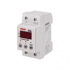 Реле контролю напруги однофазні E. NEXT 32А з індикацією e.control.v08