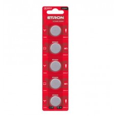 Батарейка ETRON Lithium Power CR2032 3V Blister 5 шт