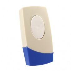 Кнопка дзвінка - блакитний овал з накладкою