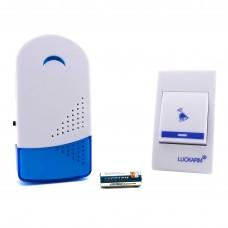 Дверний дзвінок 220В VARGO з бездротовий кнопкою, 32 мелодії (асорті)